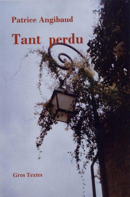 ANGIBAUD Patrice - Tant perdu