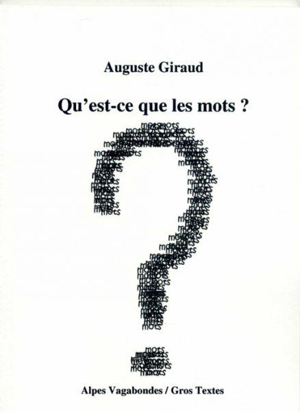 Giraud Auguste - Qu'est-ce que les mots ?