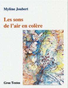 Joubert Mylène Joubert - Les sons de l'air en colère