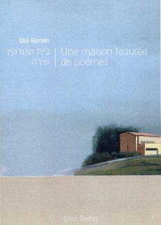 Ronen Diti - Une maison fissurée de poèmes